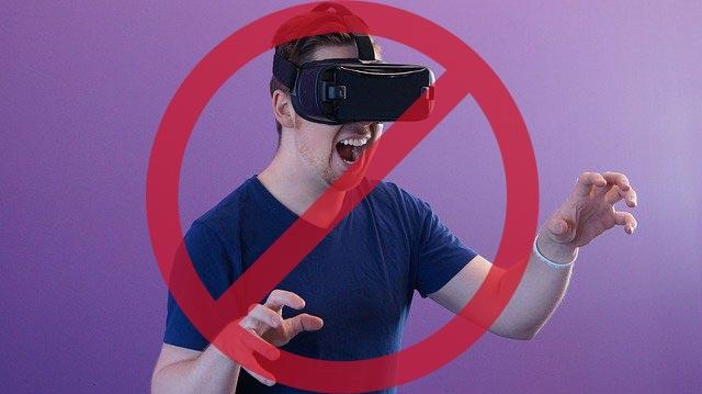 VRプロフ写真はNG